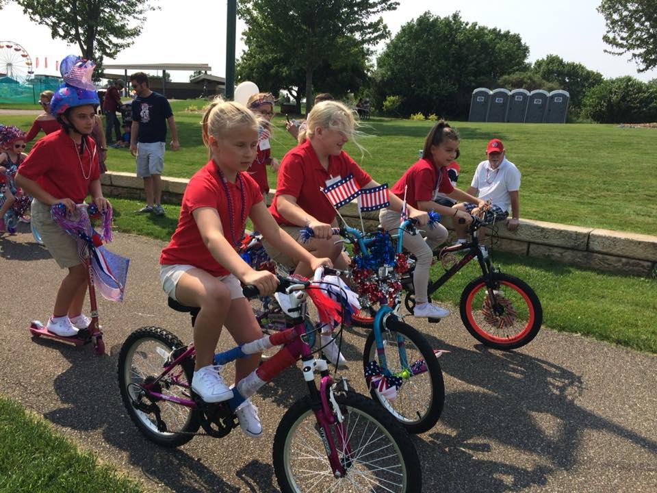 Bike Parade Eagan July 4th Funfest
